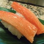 丸まん寿司 - かに棒 1貫100円