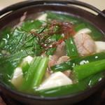 枡 - 料理写真:もつ鍋