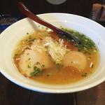 ぷかぷか - 味玉ラーメン(塩)