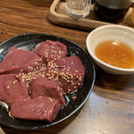 108130416 - ごま塩レバー焼き(850円) 2019.5