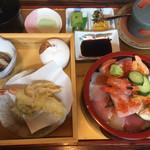 花のいわや亭 - 特盛海鮮丼セット