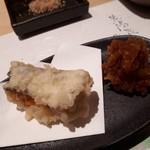 天てんぷら うち津 - 熟成太刀魚