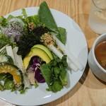 108134861 - サラダ、スープ