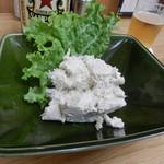 四ツ木製麺所 - 自家製ツナサラダ