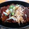 サンデイズフード - 料理写真:厚焼き豚玉 アップ