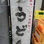 四ツ木製麺所 - 気になる看板をパシャ