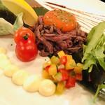 肉の寿司×鉄板焼 肉バルダイニング Little Monkey -