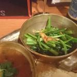 ラリグラス アジアンダイニングバー - ホウレン草炒め