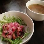 ビストロ村一番 - サラダ&スープ
