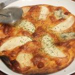 MARIO - ゴルゴンゾーラとリンゴのピザ ★★☆☆☆