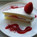 カフェユアーズ - サービスケーキ