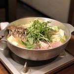 日本酒・海鮮 二六丸 - 鮟鱇の麦味噌鍋