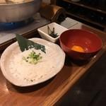 日本酒・海鮮 二六丸 - 〆の雑炊