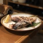 日本酒・海鮮 二六丸 - ブリかまの炙り