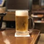 日本酒・海鮮 二六丸 - 生ビール