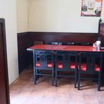清香楼 - テーブル席