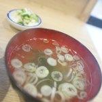 鳥竹 - スープ、締