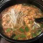 味ん味ん - にんにく辛味スープ