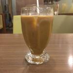 喫茶リッチ - 食後のアイスコーヒー