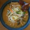 屋台ラーメン - 料理写真:野菜たっぷり味噌ラーメン(¥800税込み)