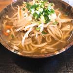 東江そば - 野菜そば 中