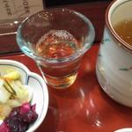 鈴波  - デザート代わり?梅粕酢。最後に出ます。