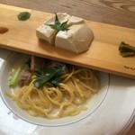 108165256 - 豆腐とパスタ