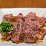 スパイスバザール アチャカナ - 2019.5 鴨の冷菜 ネパール山椒の香り(700円)