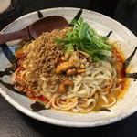 """108169797 - 汁なし担々麺 """"痺れる"""""""