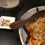 108169808 - 花椒を別皿で提供して頂き感謝です