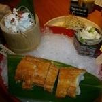 個室・炉端料理 かこいや - 醸し豆腐とチーズ雅香~仙台麩と供に