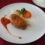 10818675 - コースA 榛名鶏の胸肉パン粉焼き