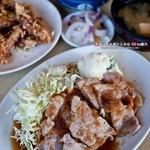 朝田屋食堂 - 焼肉定食(690円)
