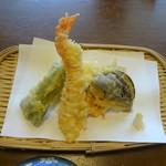 豊陣 - 会席料理(松):天ぷら