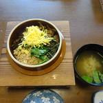 豊陣 - 会席料理(松):五目釜めし