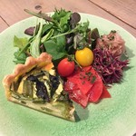 GROVE Cafe&Green - 産直こだわり野菜【プレートランチ】