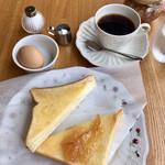 カフェ カルディー - ブレンドコーヒーのモーニングセット