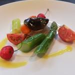 洋食の店 橋本 - お野菜の前菜