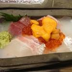 裏天満 こばち屋 - 鮮魚の竜宮玉手箱2