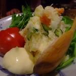 炙処 いち - ポテトサラダ