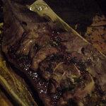 10819824 - 鶏の朴葉味噌焼き