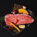焼肉屋 牛匠 - 特選ロースサーロインステーキ
