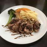 ポム・ダムール - 料理写真:お肉のランチ