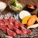 焼肉屋 牛匠 - 国産牛上カイノミ定食