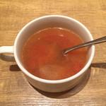 いしがまやハンバーグ - セットスープ