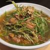 大阪麺哲 - 料理写真:【(限定) ネギそば】¥1000
