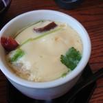 力寿司 - 茶わん蒸し