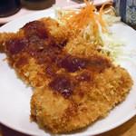 居酒屋 とよ志の亭 - 「日替定食」豚カツ