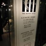 THE BUFFET STYLE SARA -