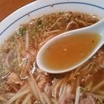 中華料理ぼたん - このスープも旨い。
